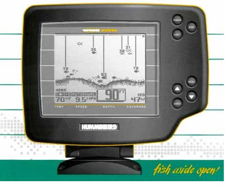 Hummingbird fish finder for Hummingbird fish finder parts