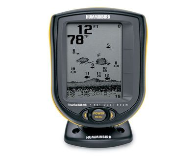 Hand held fishfinder fish finder deluxe current price for Piranha fish finder