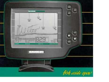 humminbird wide vision fish finder parts, Fish Finder