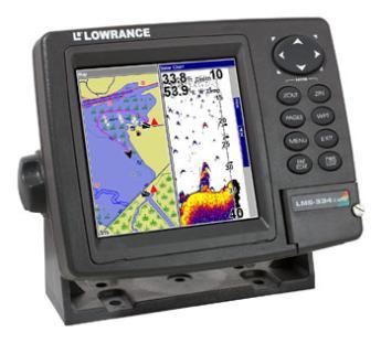 Lowrance Lms 334c Igps Fish Finder Parts
