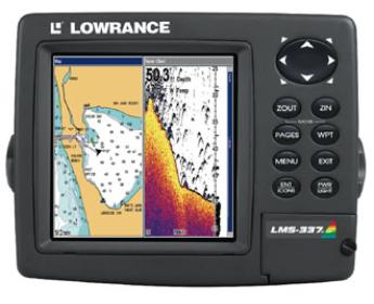 Lowrance Lms 337c Df Fish Finder Parts