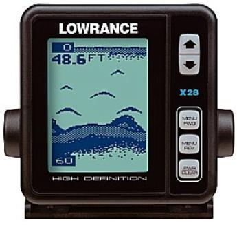 how to read my lowrance fish finder